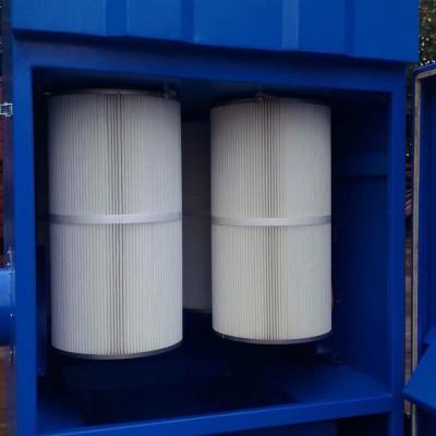 脉冲反吹式滤筒除尘器